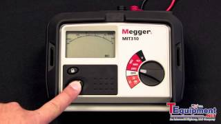 Megger MIT300 Series Getting Started