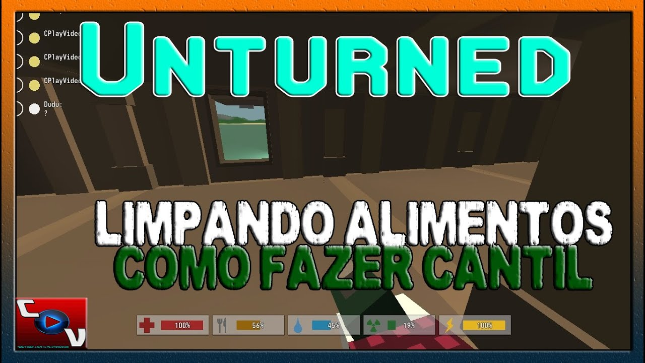 Download Unturned - Purificar alimentos e cantil #07