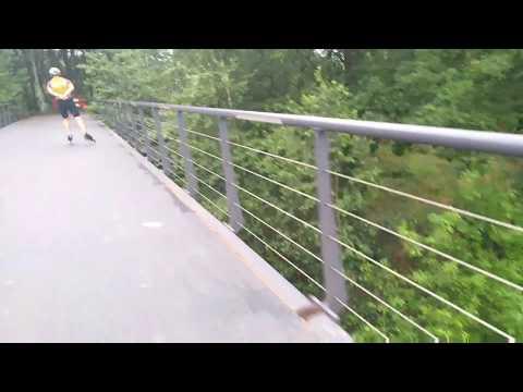 BRIDGE ROLLERBLADING EINDHOVEN NOORD BRABANT NETHERLANDS EUROPA