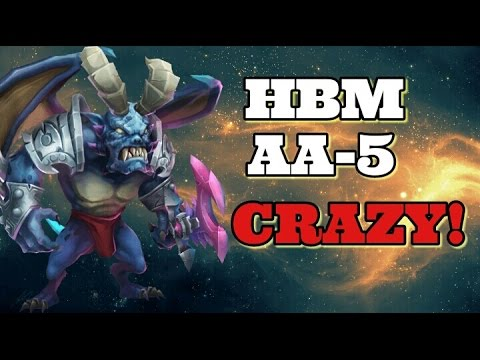 Castle Clash New HBM! AA Wave! AA-5 Is CRAZY!