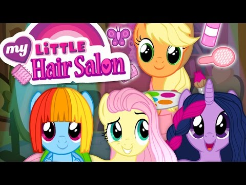 MLP Hair Salon: Hairdresser Applejack | Twilight Sparkle, Rainbow Dash & Fluttershy Makeover