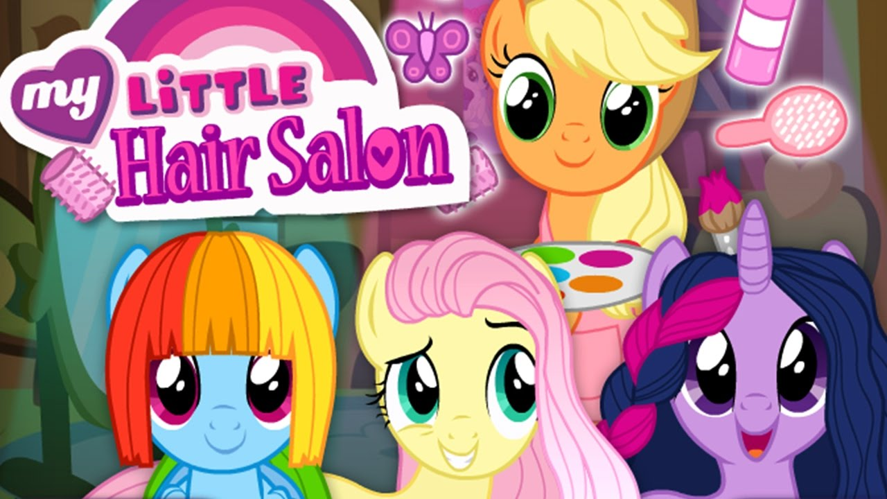 my little pony style hair mlp hair salon hairdresser applejack twilight sparkle 5754 | maxresdefault