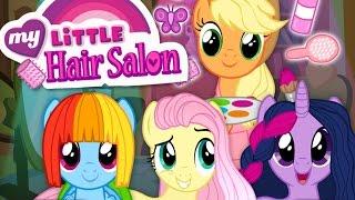 MLP Hair Salon: Hairdresser Applejack | Twilight Sparkle, Rainbow Dash & Fluttershy Makeover