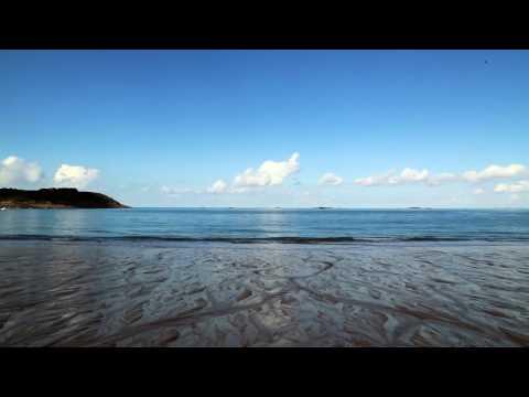 BRUIT DES VAGUES - SONS BLANCS - Plage de la Touesse (Saint Malo) - Relax'Tv