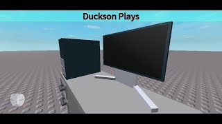How to make a Desktop PC (part 4) The Moniter Roblox Studio