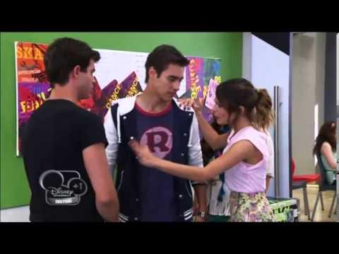 Violetta 2 dispute leon et diego youtube - Photo de leon et violetta ...
