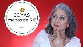 💍  JOYAS DE MENOS DE 5 €....O CASI... 💍  Makeupmasde40