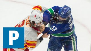 Coach Travis Green on Canucks 4-2 win over the Calgary Flames   The Province
