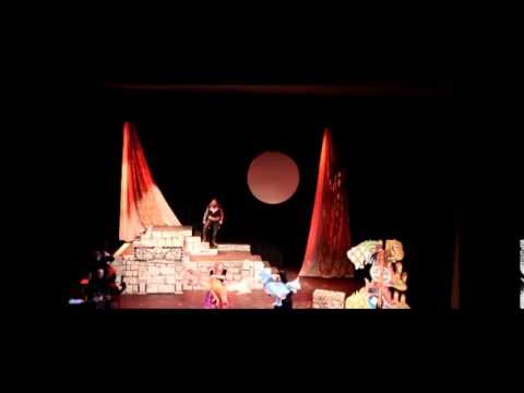 Broken Spell Bear Prince - jazz-opera clips from 2015 production
