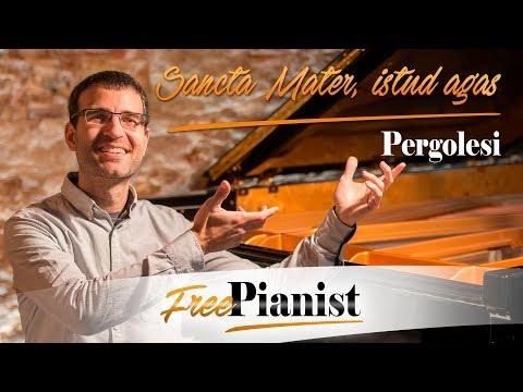 Sancta Mater, istud agas - KARAOKE / PIANO ACCOMPANIMENT - Stabat Mater - Pergolesi