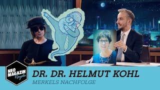 Dr. Dr. Helmut Kohl: Merkels Nachfolge  | NEO MAGAZIN ROYALE mit Jan Böhmermann - ZDFneo