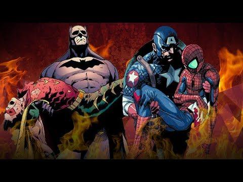Топ 10 Величайших Смертей Супергероев