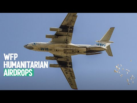 Behind the scenes: WFP humanitarian airdrops