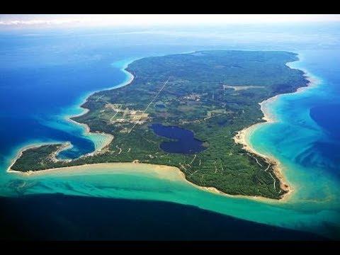 BEAVER ISLAND [] KING AIR BE9L [] LAKE MICHIGAN