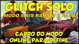 GTA V ONLINE - CARROS DO OFFLINE PARA O ONLINE NO GTA 5 ONLINE