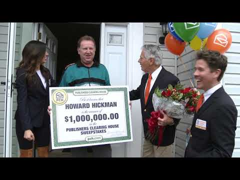 Pickerington man wins $1 million from Publishers Clearing House