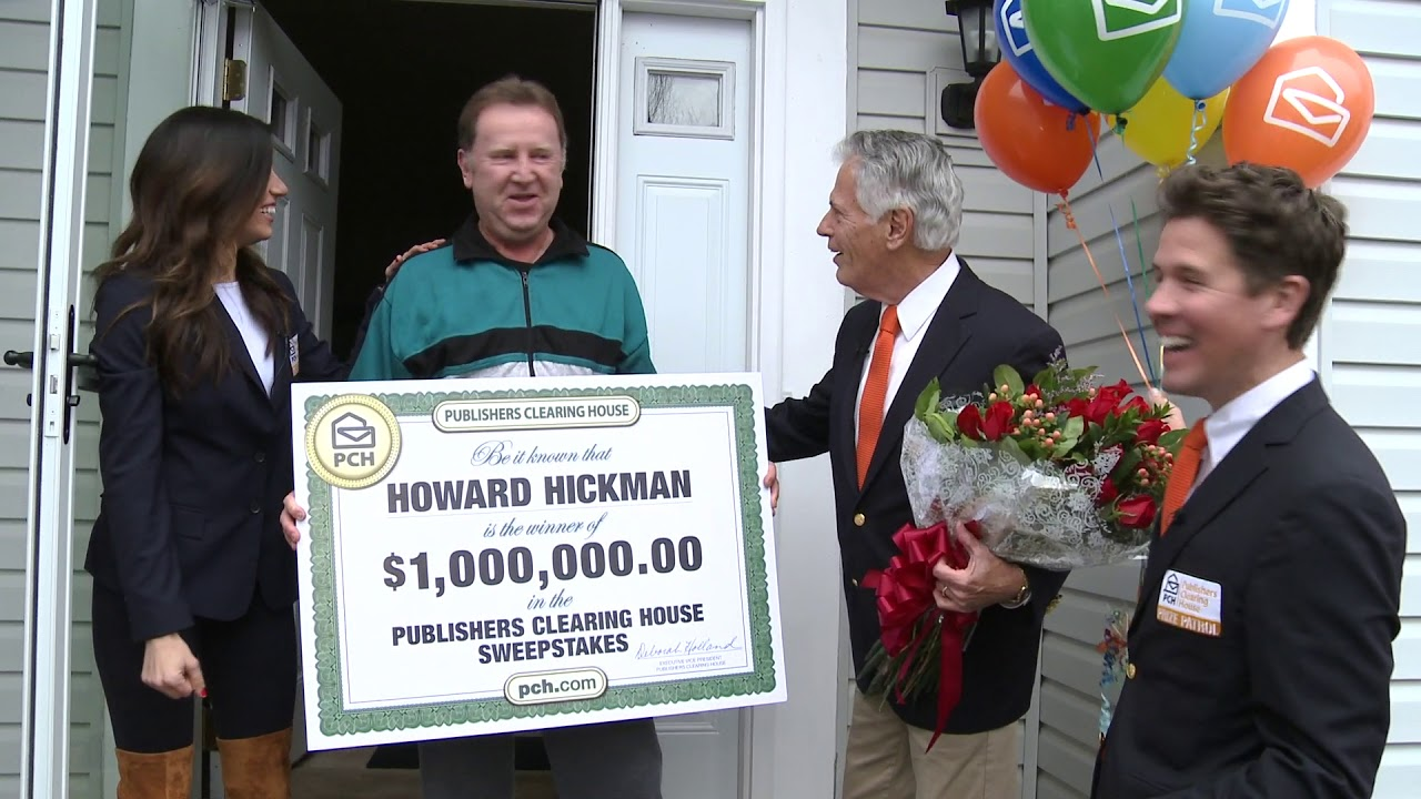Publishers Clearing House Winners: Howard Hickman From Ohio Wins $1 Million