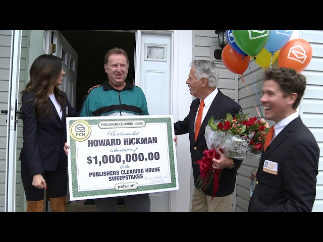 Pickerington man wins $1 million from Publishers Clearing