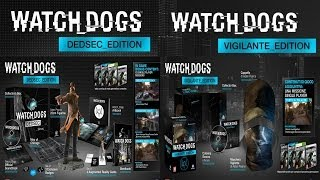 WATCH DOGS DEDSEC & VIGILANTE EDITION