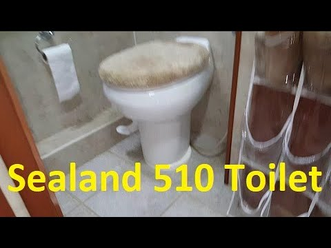 Sealand model 510 RV Toilet Replacement...another proof the industry hates me!