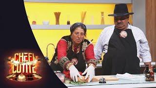 Diamant și Letiția, doi rromi autentici, gătesc tocană țigănească, la Chefi la Cuțite