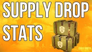 WW2 In Depth: Supply Drop Stats (Call of Duty: WWII)