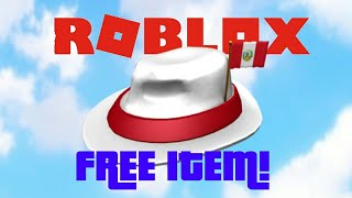 HOW TO GET A FREE FEDORA IN ROBLOX!