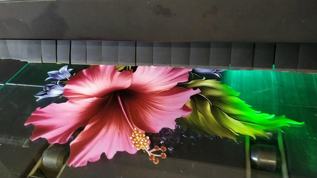 УФ печать на стекле 2