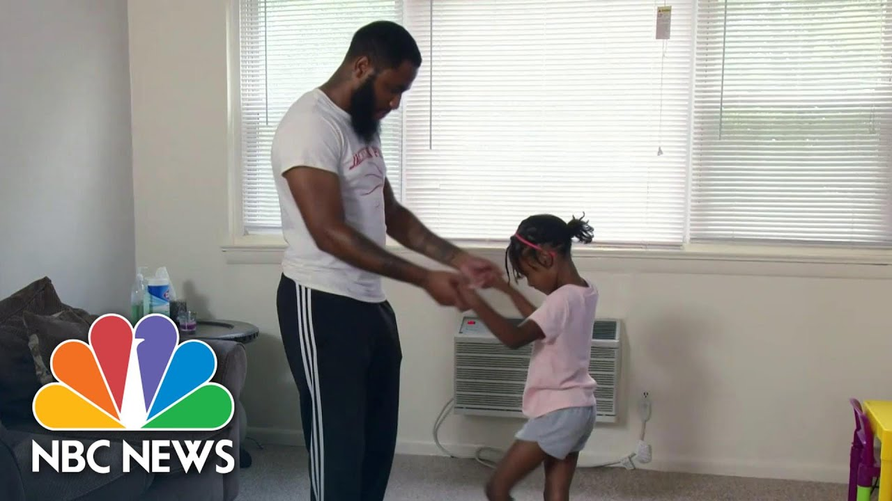 Father-Daughter Ballet Class Goes Virtual | NBC Nightly News
