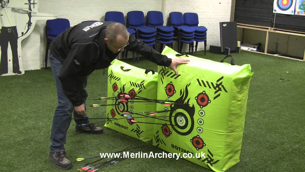 Mybo Sureshot Hotshot Archery Bag Target Demonstration And Maintenance By Merlin You