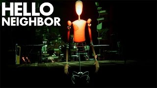 ШКОЛА С МАНЕКЕНАМИ И ПОЛЁТ С ВАГОНЕТКИ ► Hello Neighbor Alpha 4 #4