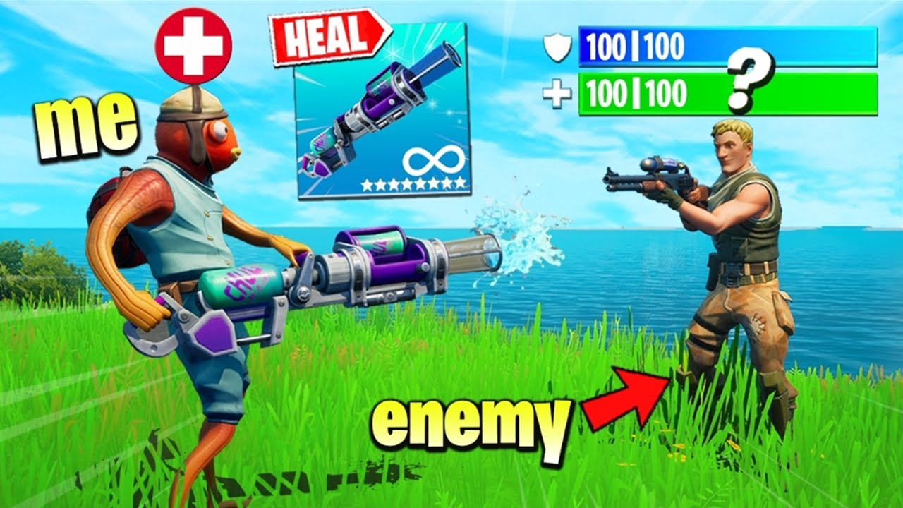 Fortnite Except I HEAL My Enemies
