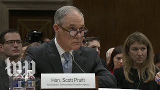 Pruitt won't say whether he supports Mueller's investigation