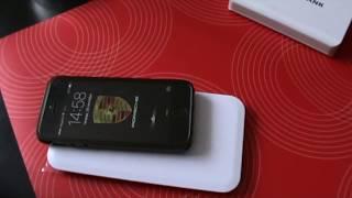 видео беспроводная зарядка для айфона