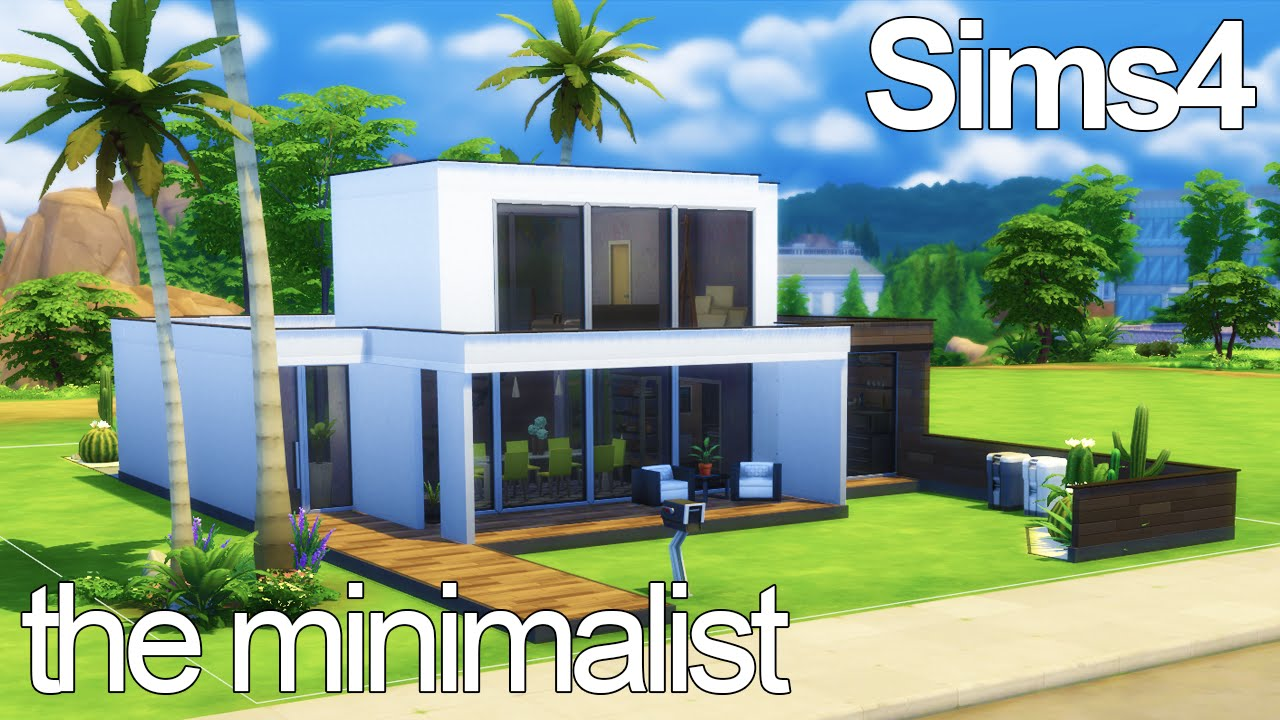 The Minimalist - Sims 4 Speed Build