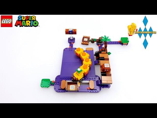 Lego Super Mario - 71383 Wiggler´s Poison Swamp / Wiggler´s Giftsumpf + Gameplay