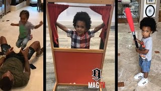 #RHOA Kandi Burress Son Ace Is Too Cute & 2 Much To Handle! ⚾️