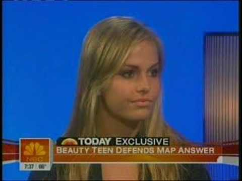 Miss Teen USA 2007 - South Carolina on Today show