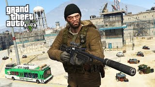 GTA 5 Zombie Apocalypse Mod #11 - THE PRISON!! (GTA 5 Mods) thumbnail