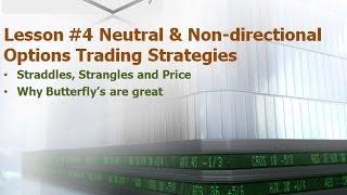 Neutral AKA Non Direction Trading Strategies