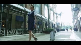 Airwheel SR5 intelligent self driving(following) luggage(valise suivi automatique,robot suitcase) !