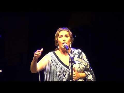 📽 Estrella Morente en la noche algecireña en honor a Paco de Lucía