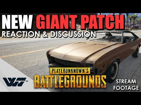 PATCH: New GIANT Update, Weapon rebalancing, New Grips (My Initial reactions to the changelog) PUBG