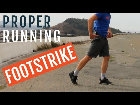Proper Running Footstrike | 3 Steps To Improve It!