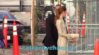 Scandal Actress Darby Stanchfield outside Spirit Awards