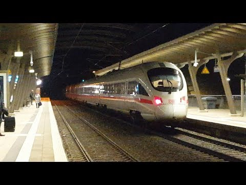 ICE T in Jena Paradies: ICE1604 Berlin Hbf (tief)