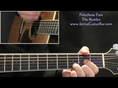 How To Play The Beatles Polythene Pam mp3