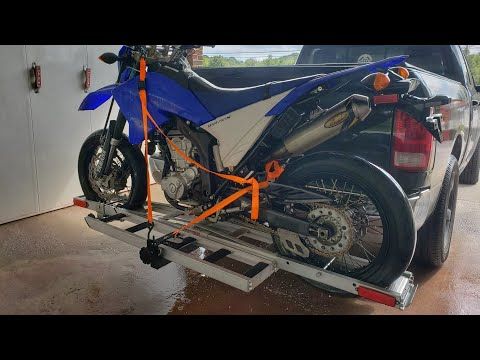 Harbor Freight Motorcycle Carrier Review