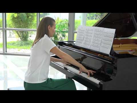 Anna Sutyagina plays Nocturne 111: A Nocturnal Etude by Ronald Karle