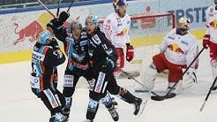 Highlights: Erste Bank Eishockey Liga, 3. Runde: EC Red Bull Salzburg - Black Wings Linz 4:5 OT